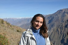 Before the trekking at Canyon del Colca