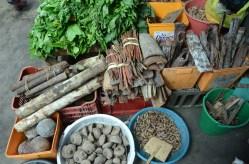 Medicinal plants at Bélen market, Iquitos
