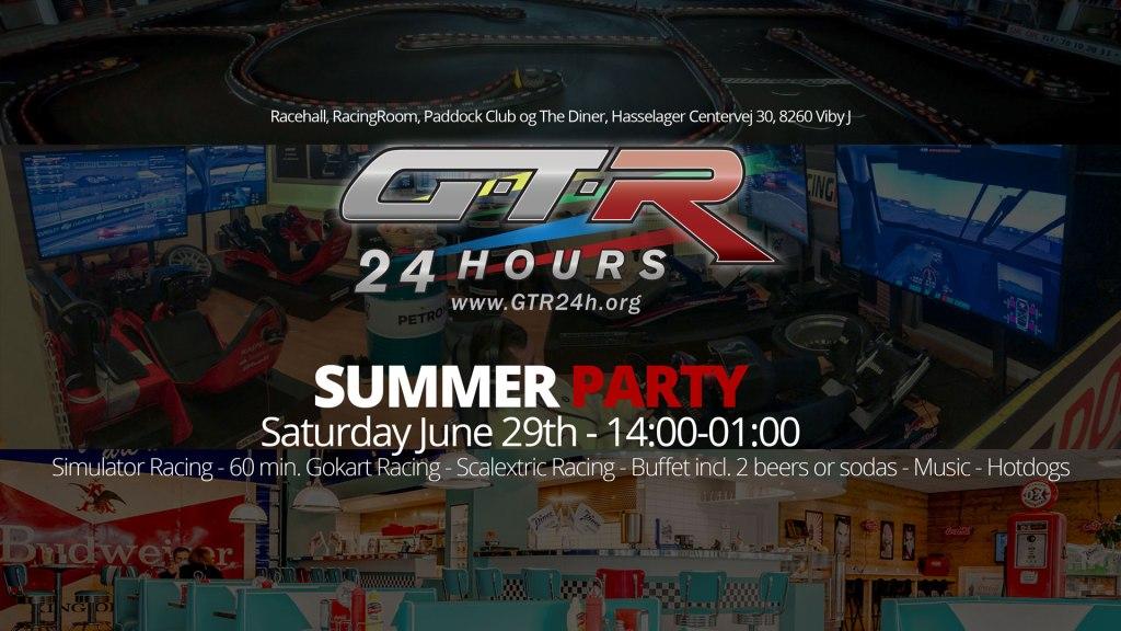 GTR24h Summer Party 2019