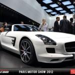 Paris 2012 Mercedes Benz Sls Amg Gt Roadster Gtspirit