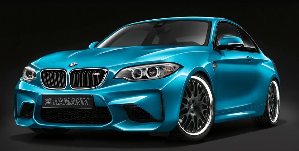 Hamann Previews BMW M2 Tuning Kit GTspirit