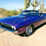 1 Of 5 1970 Dodge Challenger R T Convertible For Sale At 1 8 Million Gtspirit