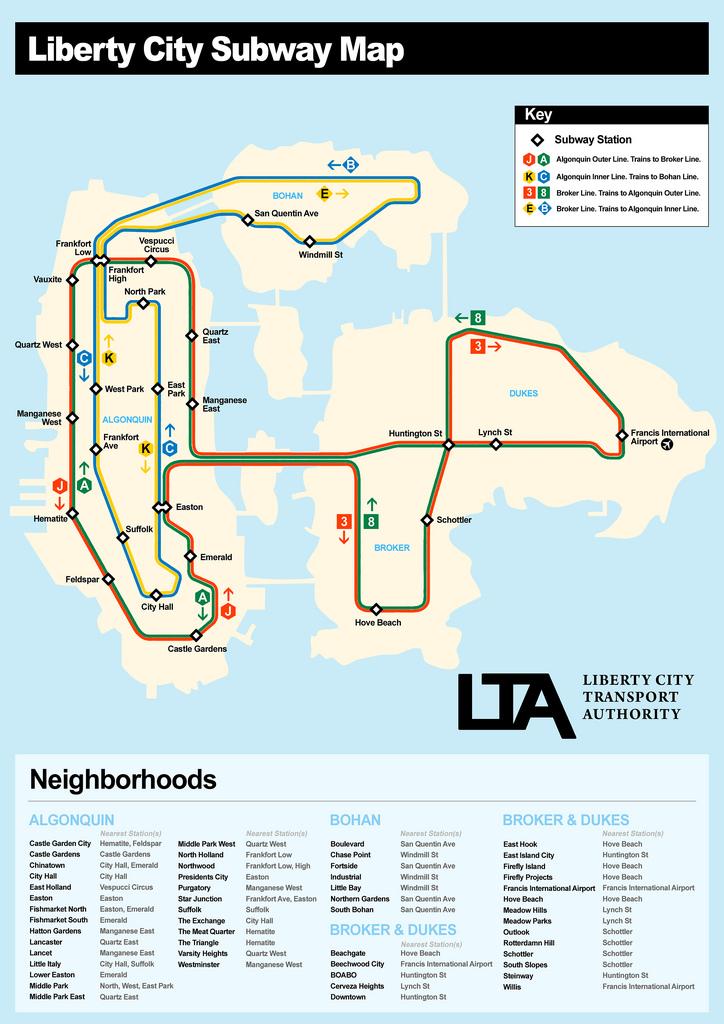 City Gta Satellite 4 Map Liberty