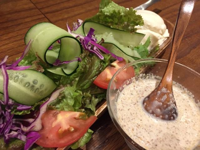 1・5~gakuya~【stand】_豆腐サラダ