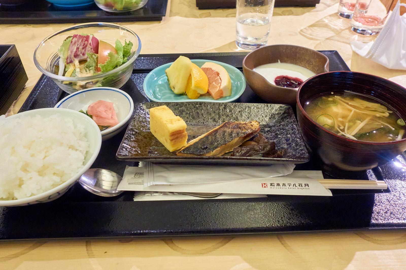 松本ホテル花月朝食