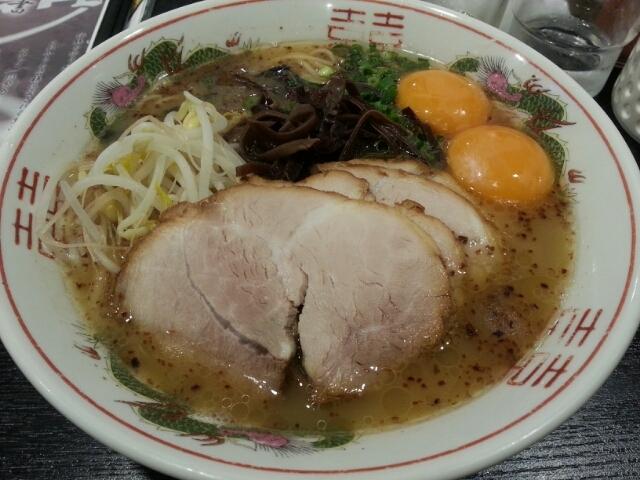 黒亭_玉子入りラーメン