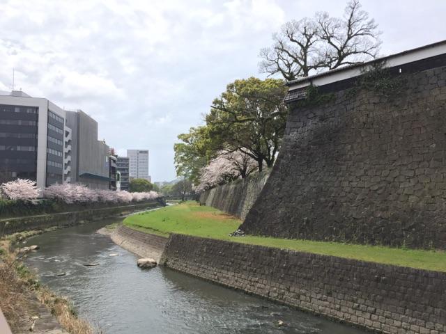 熊本城 外堀