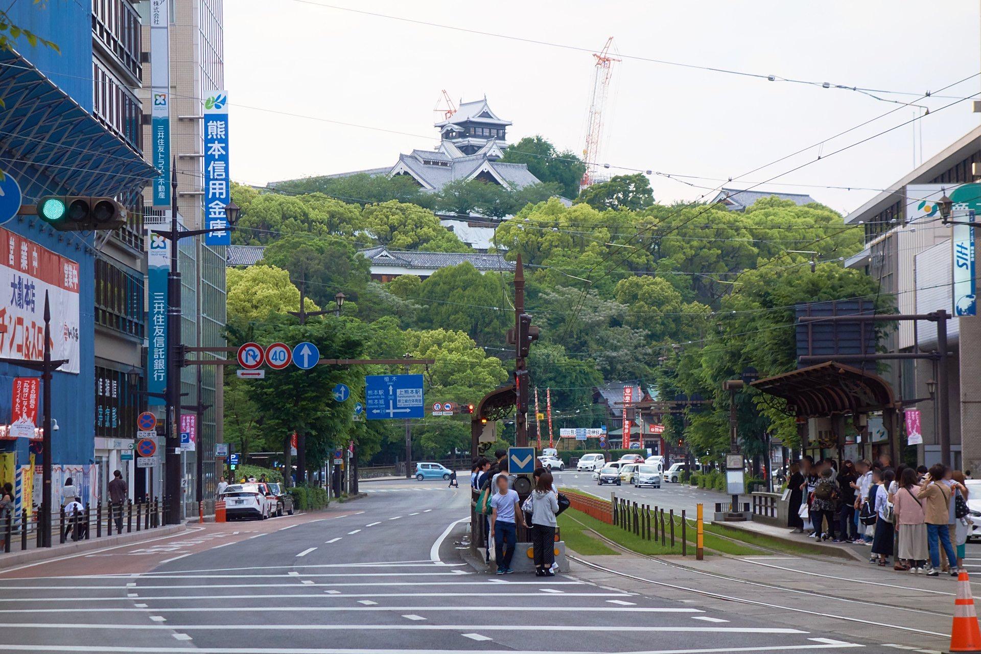 熊本市通町