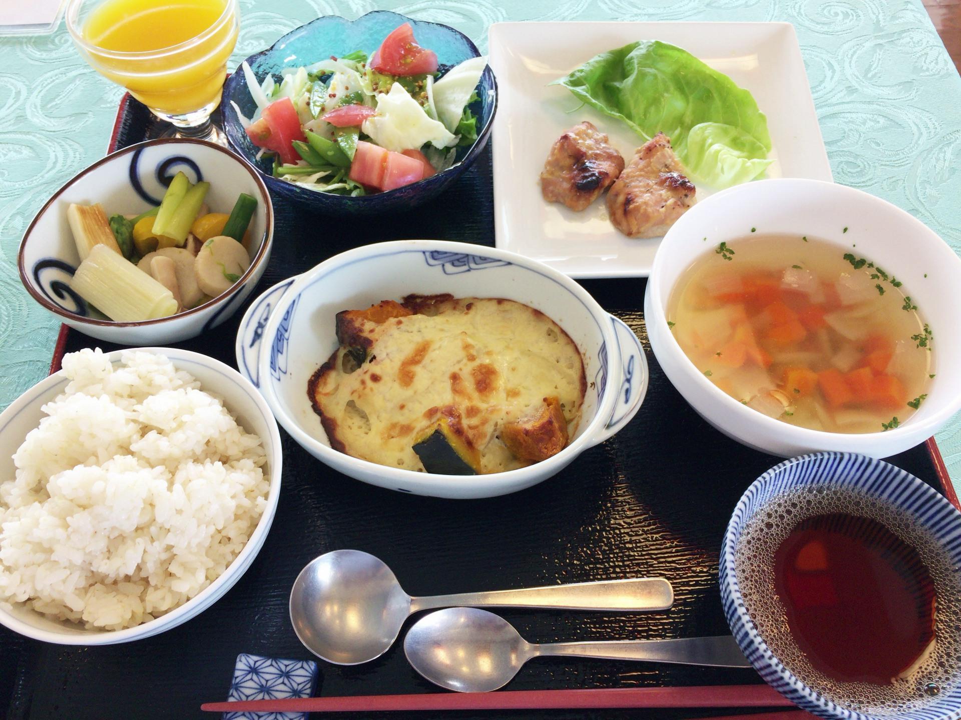 日本赤十字社熊本健康管理センター昼食