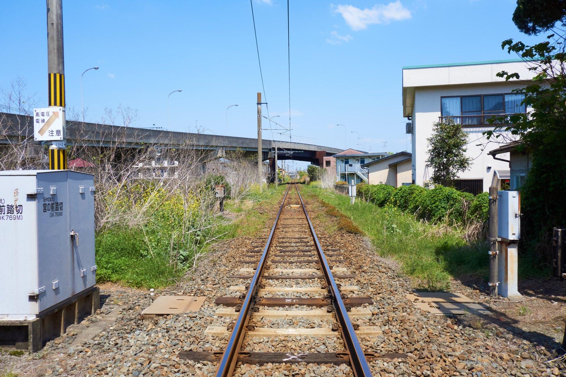 JR九州の線路