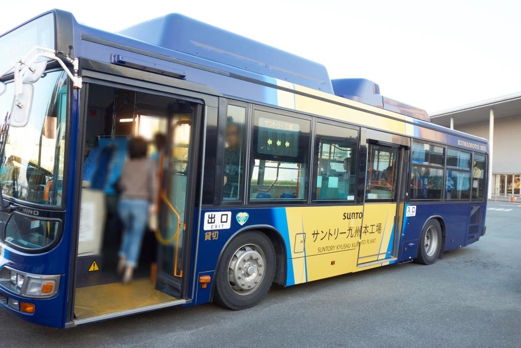 サントリー九州熊本工場無料シャトルバス