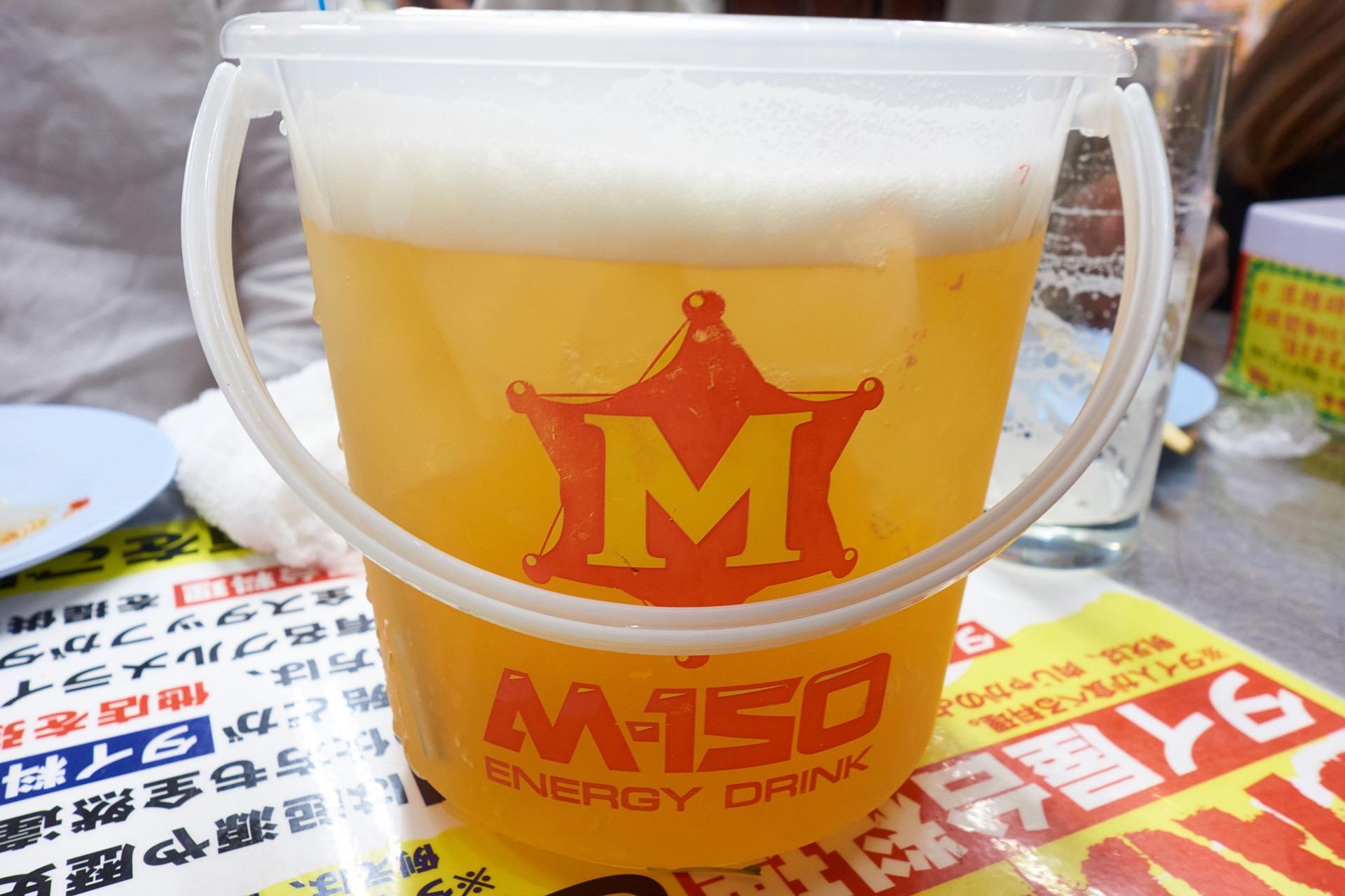 タイ屋台999 バケツサイズビール