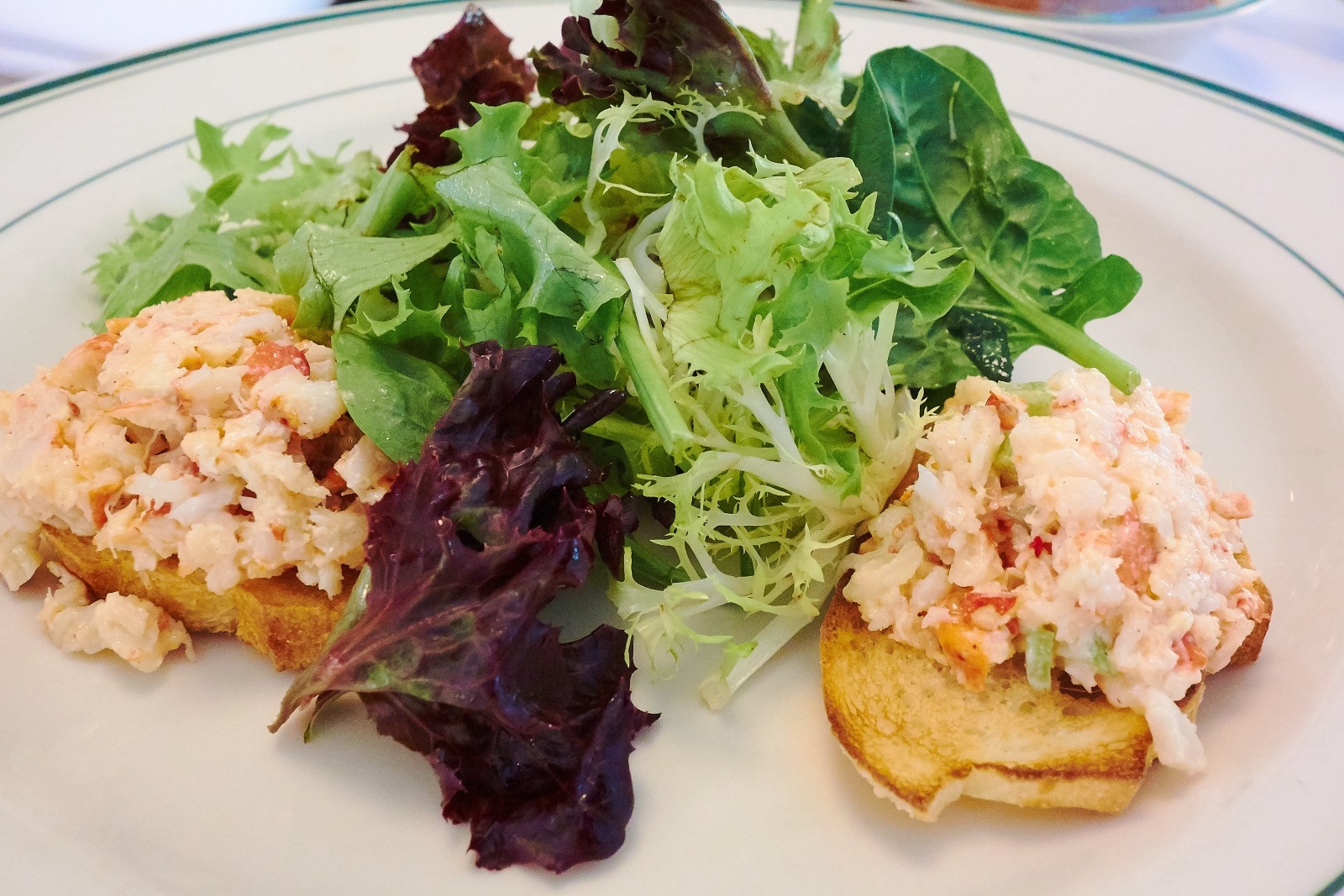 Wolfgang s Steakhouse Lobster crostini