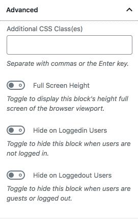 Editors Kit – Gu10 Blocks