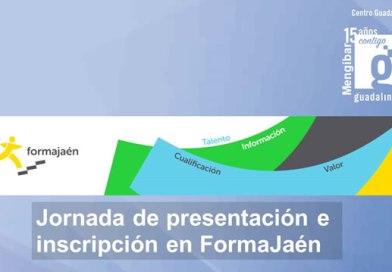 Sesión informativa: FormaJaén en Mengíbar