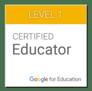 Educador Certificado en Google para Educación