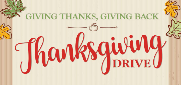 Thanksgiving Food Drive - OLG - Office of Catechesis