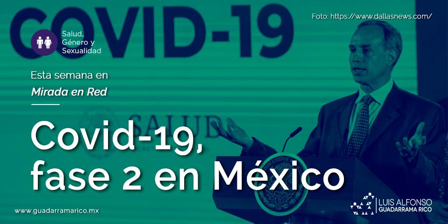 Covid-19, fase 2 en México