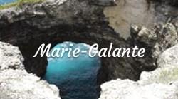 Site naturel Marie-Galante les îles de Guadeloupe