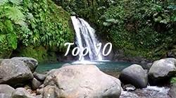 Site naturel top 10 les îles de Guadeloupe