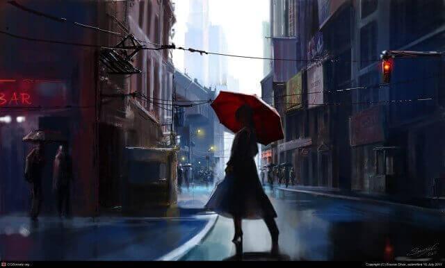 Urban Fantasy by Sourav Dhar ~ https://www.artstation.com/artist/sourav