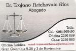 Dr. Trajano Arichavala Ríos