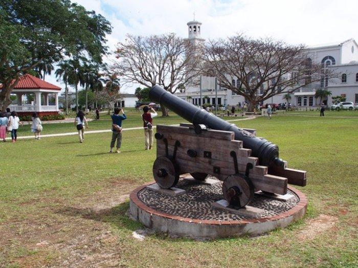 スペイン式大砲のレプリカ