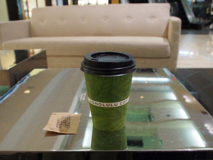 ホノルルコーヒーのコナコーヒー