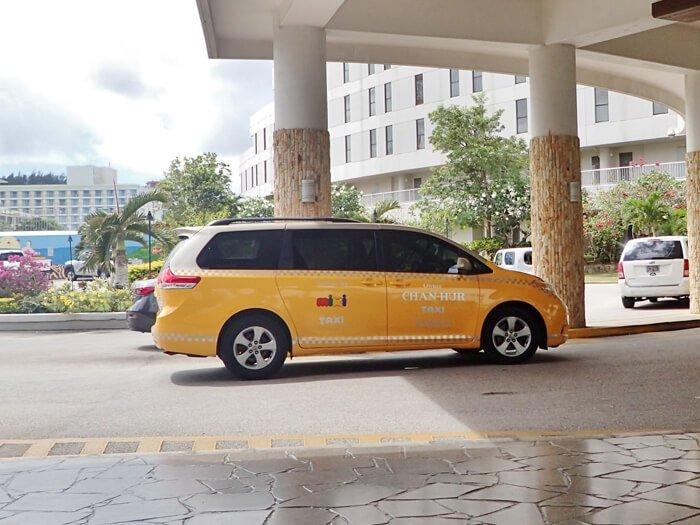 グアムのタクシー