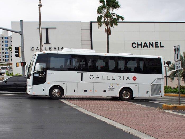 Tギャラリアエクスプレス(DFSの無料バス)
