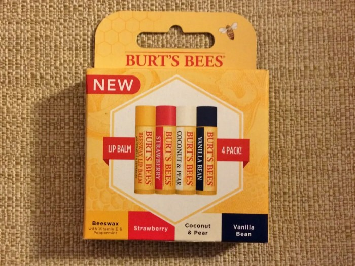 【Burt's Bees】リップバーム
