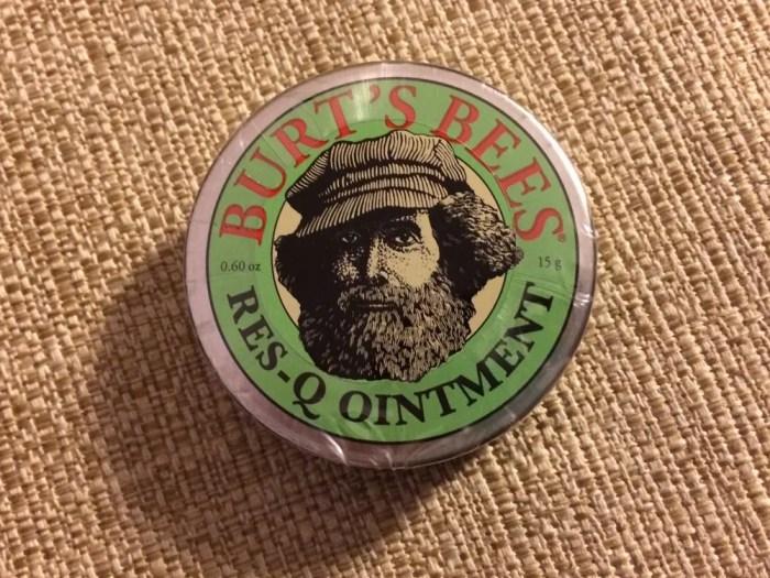 【Burt's Bees】レスキューオイントメント