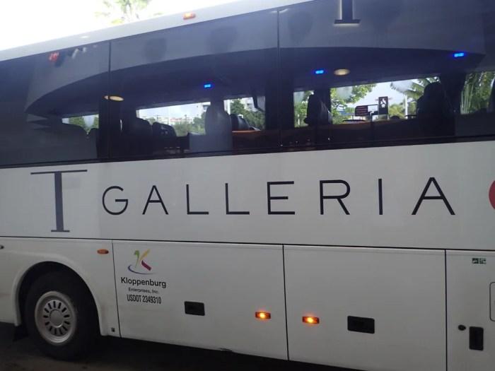 Tギャラリアのバス