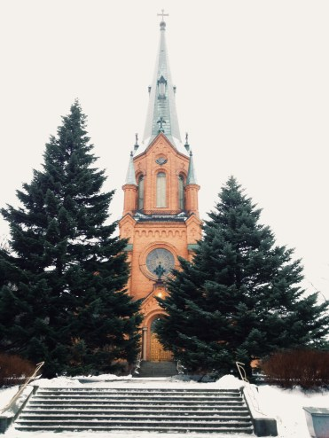 3. Alexander Church was the main church of the Christians in Tampere. The church, with a design influenced by different styles, was named after Russian Emperor Alexander II.