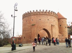 8. The Warsaw Barbican, part of the heavy fortifications which once encircled Warsaw.