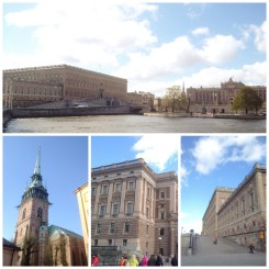7. Also went for the old town tour. Those are the royal palace and the Parliament House at the top, as well as a German church and two different pictures of the royal palace from left to right. I think I've been to one too many old town tours, so highlights like narrow streets, narrow fronts, and cathedrals were not as spectacular.