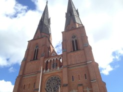 12. Right across Museum Gustavianum is the Uppsala Domkyrka, which can be seen from most parts of the city.