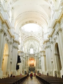 4. The Catholic church Theatinerkirche Saint Kajetan (Theatine Church of Saint Cajetan) is right next to the Feldherrnhalle, and while its exterior is undergoing refurbishment, its interior remains gorgeous. There are also a number of other churches around the city.