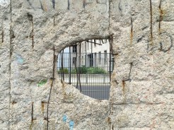 6. One of the three long segments of the Berlin wall, adjacent to the Topography of Terror.