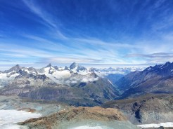 19. Additional views from the summits (glacier paradise).