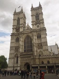 6. Westminster Abbey, a traditional religious building which serves as the coronation site of British monarchs. Most recently, the royal wedding between Prince William, Duke of Cambridge and Miss Catherine Middleton was held in the building.