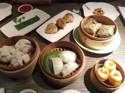 13. Dim sum at contemporary Yauatcha in the Soho area, a district of restaurants and cultural commerce. We chose a combination of dishes which were harder to come by in Singapore, including king crab dumplings and a venison pastry puff.