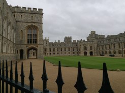 20. We took a day tour to three locations - Windsor Castle, the Roman baths, and Stonehenge - and while it was a rush we had a good glimpse of the attractions. The first stop was Windsor Castle, with its resplendent State Apartments and Queen Mary's Dolls' House.