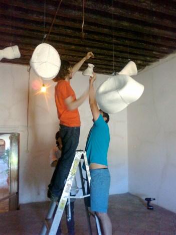 Intern duties include artwork setup