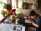 2012 Visual art activities