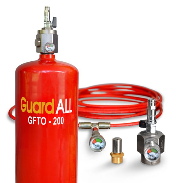 Gas Supression System Equipment GuardALL