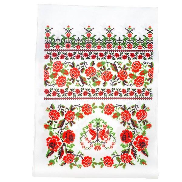 Рушник под иконы, красные розы 21068. Цена, купить в Киеве ...