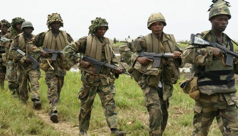 niger, army