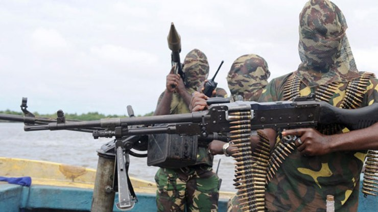 Image result for niger delta militants getty