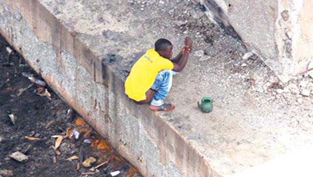 Image result for open defecation